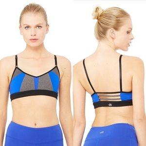 ALO Yoga color block sports bra